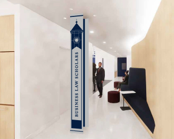 Georgetown Business Law Scholars Logo