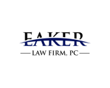 https://www.logocontest.com/public/logoimage/1591689217Eaker Law.png