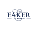 https://www.logocontest.com/public/logoimage/1591854358Eaker Law Firm PC.png