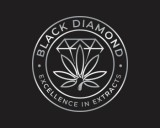 https://www.logocontest.com/public/logoimage/1611305867Black Diamond excellence in extracts Logo 11.jpg