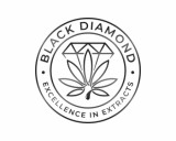 https://www.logocontest.com/public/logoimage/1611305883Black Diamond excellence in extracts Logo 12.jpg
